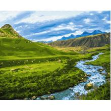 """Картина по номерам """"Альпийский луг"""""""