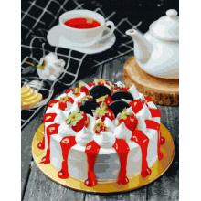 """Картина по номерам """"Аппетитный тортик"""""""