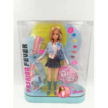 Коллекционная кукла Барби Barbie Fashion Fever Styles For 2`Blonde Doll H8575 HTF New Mattel 2005
