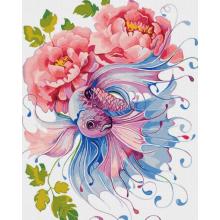 """Картина по номерам """"Фантастические цветы"""""""