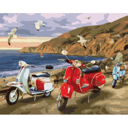 "Картина по номерам ""Лето на побережье"""