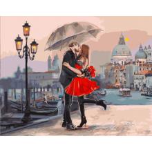 """Картина по номерам """"Пара в Венеции"""""""