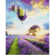 """Картина по номерам """"Полет над лавандовым полем"""""""