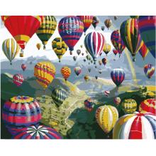 """Картина по номерам """"Разноцветные шары"""""""