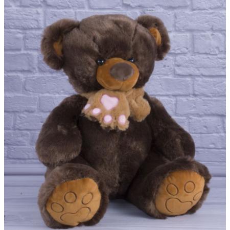 Медведь плюшевый Бублик коричневий 60 см ТМ Копица