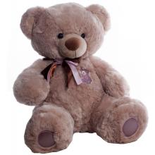Медведь плюшевый Бублик капучино 60 см ТМ Копица