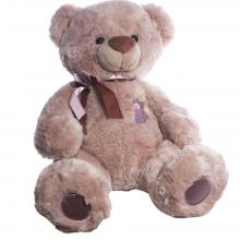 Медведь плюшевый Бублик капучино 90 см ТМ Копица
