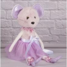 Мышка балерина в розовом 001ТМ Копица