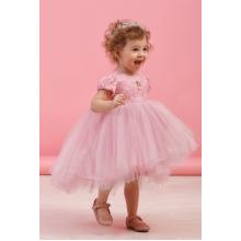 Нарядное платье розовое р.80-48 TM Zironka 38-8006-2