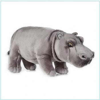 Мягкая игрушка бегемот