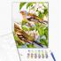 """Картина по номерам """"Весенние птички"""""""