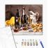 "Картина по номерам ""Вино с фруктами"""