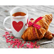 """Картина по номерам """"Завтрак с любовью"""""""